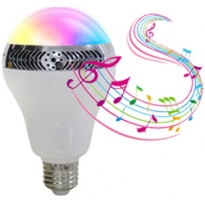 LED E27 Bulb - 10W - RGB/WW - Bluetooth Speaker