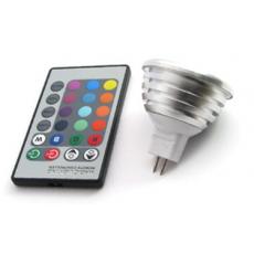 LED GU5.3-Spot - RGB - 3W - incl. AB
