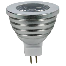 LED GU5.3-Spot - RGB - 3W