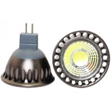 LED GU5.3 Spot - 4W - COB - 2500K - 380Lm - Dimbaar