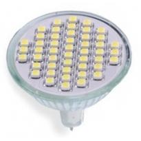 LED GU5.3 Spot - 3W - 48SMD - 3000K- 180Lm