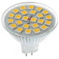 LED GU5.3 Spot - 3W - 24SMD - 3000K- 240Lm