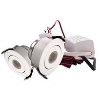 LED Set van 2 Inbouwspots - 3W - Wit - Dimbaar - Gratis Trafo