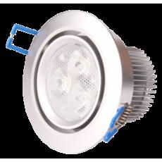 LED Inbouwspot - 3*3W - Dimbaar - Gratis Trafo