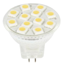 LED G4/MR11-spot - 12SMD - High Lumen - 2,4W