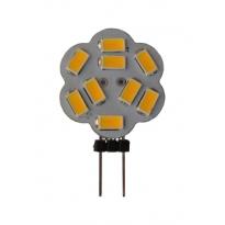 LED G4 - 2,3W - 9SMD - Sidepin - 3000K - 360Lm