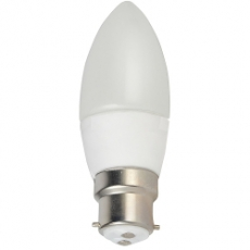 LED B22 - Kaarslamp - 3W (230V)