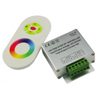 LED RGB Touch Controller (DC12-24V) + Afstandsbediening
