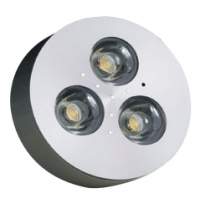 LED Puck spot (opbouw) - 8,4W - 12V - Complete dimbare set
