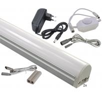 LED Onderbouwverlichting - 5W - 24V - Complete set met 2 Bars