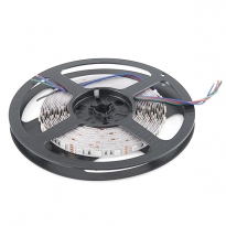 LED Strip - RGB - SMD5050 - 7,2W/m - 5m + DC12V - IP20