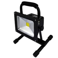 LED Bouwlamp - 20W - 1700Lm - Oplaadbaar