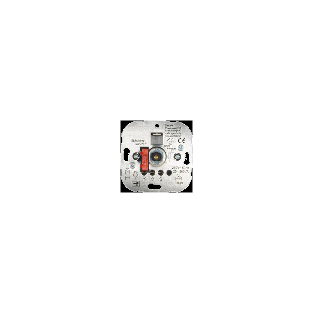 Inbouwdimmer (voor gloei- en halogeenlampen)