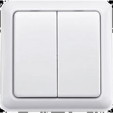 KAKU Draadloze wandschakelaar dubbel (AWST-8802)