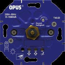 Inbouwdimmer (voor LED- en spaarlampen-faseaansnijding)