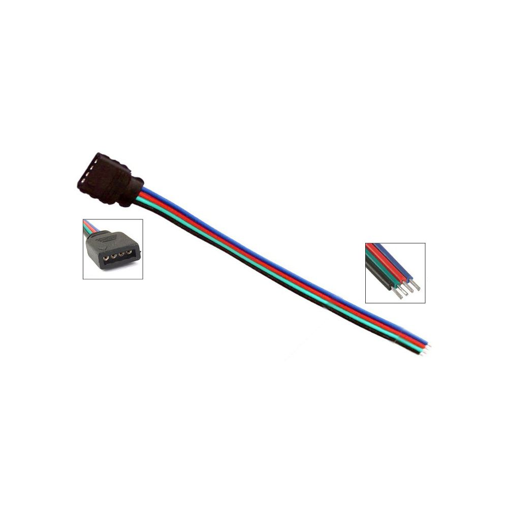 LED RGB Strip Connector - 10cm