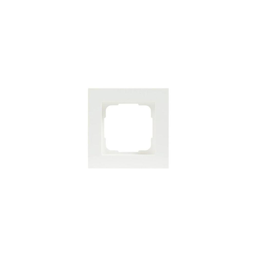 Afdekraam (enkel) voor inbouwdimmer (KUBUS)
