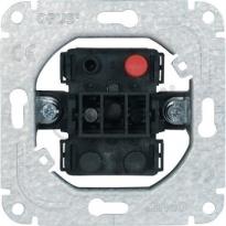 Pulsschakelaar - enkelpolig - 250VAC - 10A