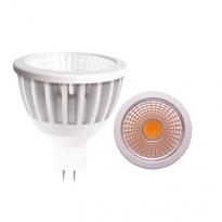 LED GU5.3 Spot - 7W - COB - 3000K - 600Lm